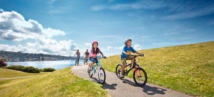 children-biking
