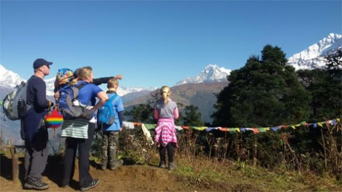 family-trekking