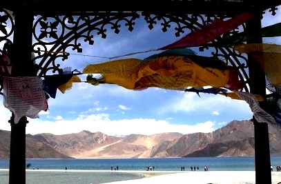 Savour another view of Pangong lake