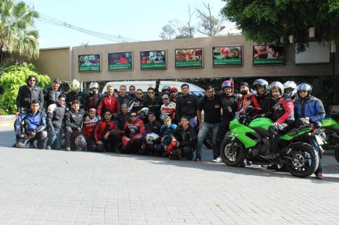 40 Riders on Thailand Ride with Viktorianz